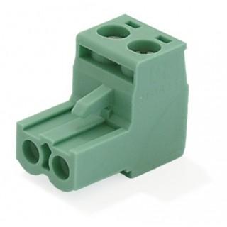2-Pinners grønn plugg
